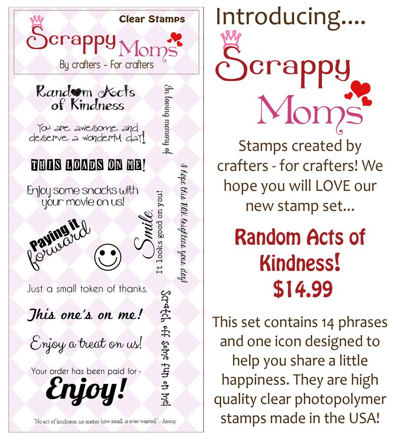 Random Acts Of Kindness stamp ad photo