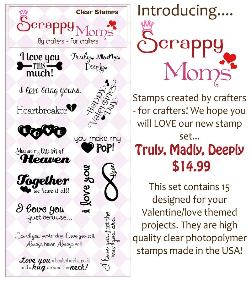 Truly, Madly, Deeply Stamp Ad Photo